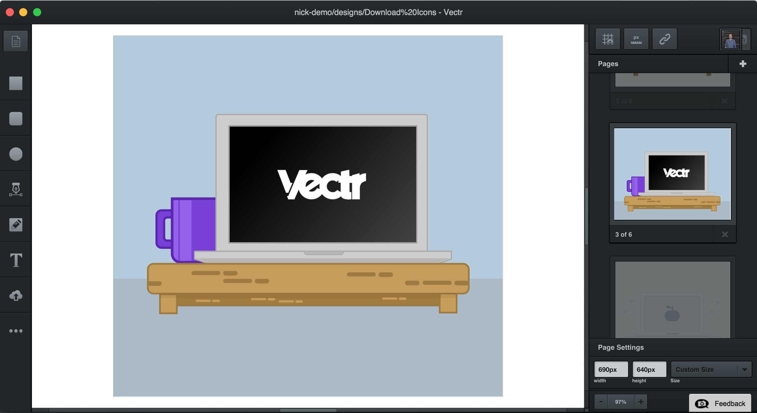 Vectr A Web Based Illustrator Alternative Nod