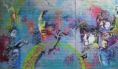Indigo's Collaboration with C215 in Paris