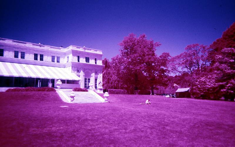 infrared film photograph
