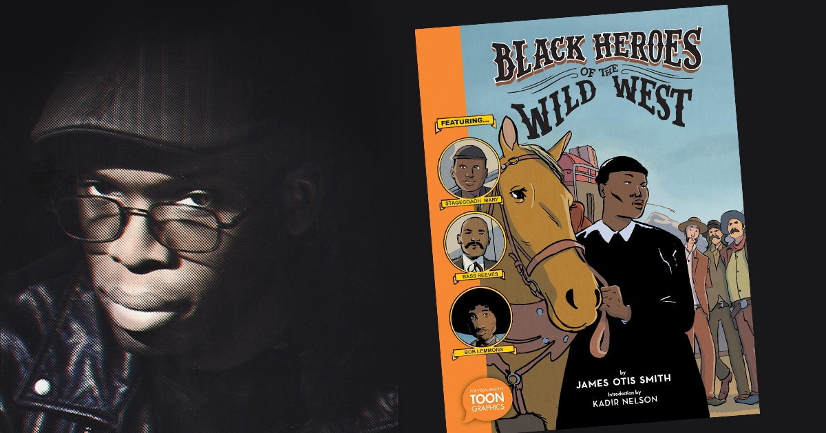 James Smith - Black Heroes of the Wild West author