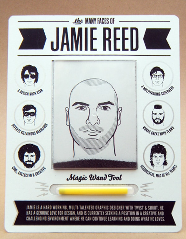 Jamie Reed Magnetic Toy Promo