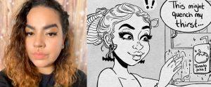 Katherine Butts, illustration major