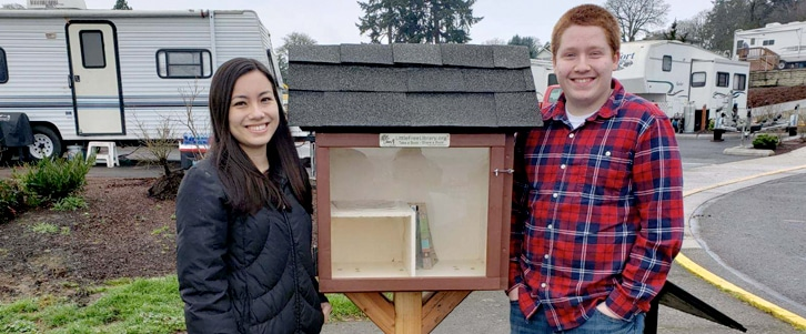 Little Free Library Project St Helens