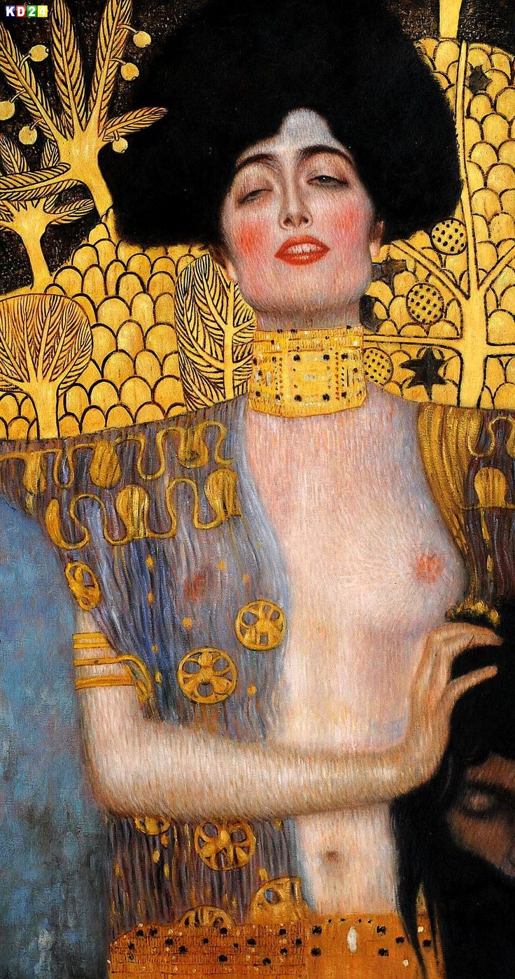 klimt judith and the head of holofernes