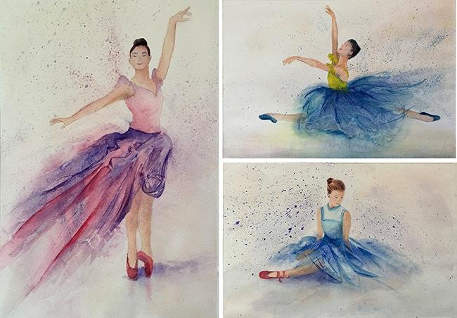 Lynne Adams ballerina series