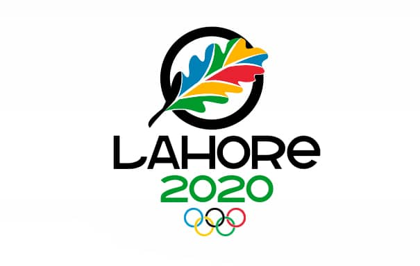 olympics logo for lahore