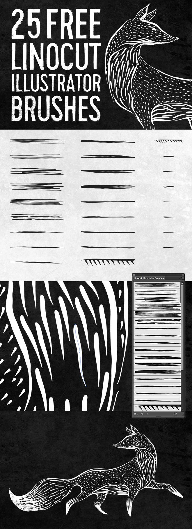 linocut-illustrator-brushes