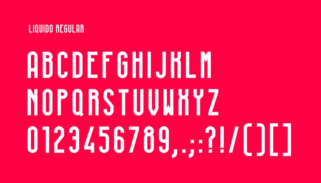 Free Font Friday: Liquido