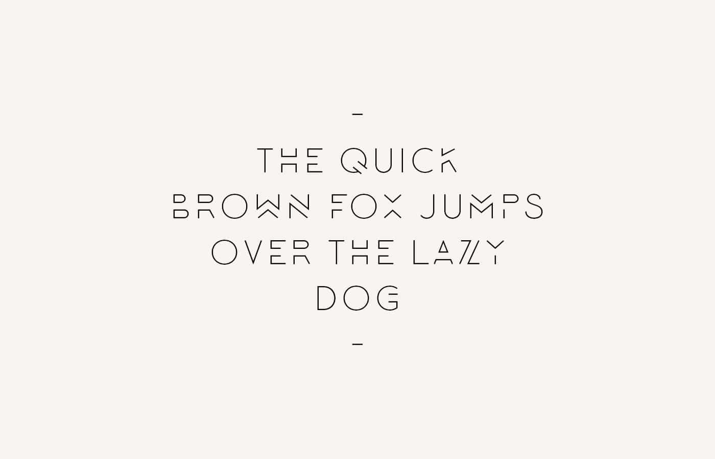 lombok typeface example