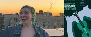 Maggie Brownstone, Illustration student