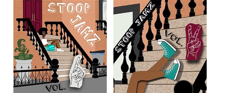 Maggie Brownstone illustrator work NYC scene