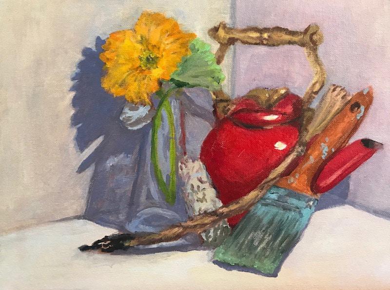 Maggie Brownstone painting work
