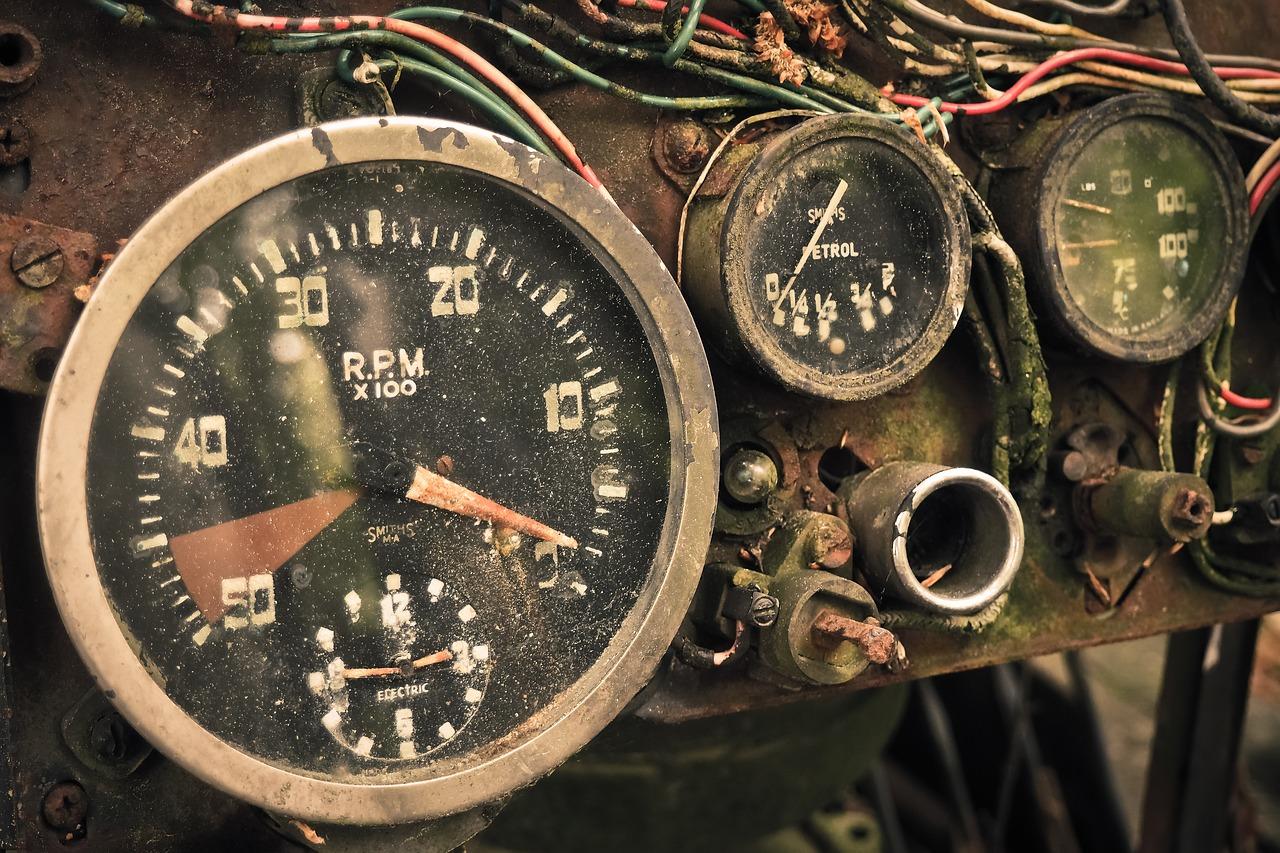 maxed speedometer