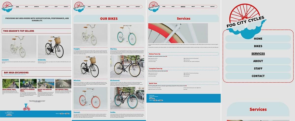 Maeghan Driedger web design