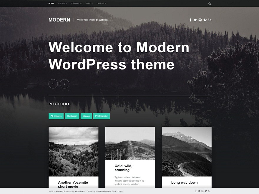Best Free Wordpress Themes for 2017 - Notes on Design