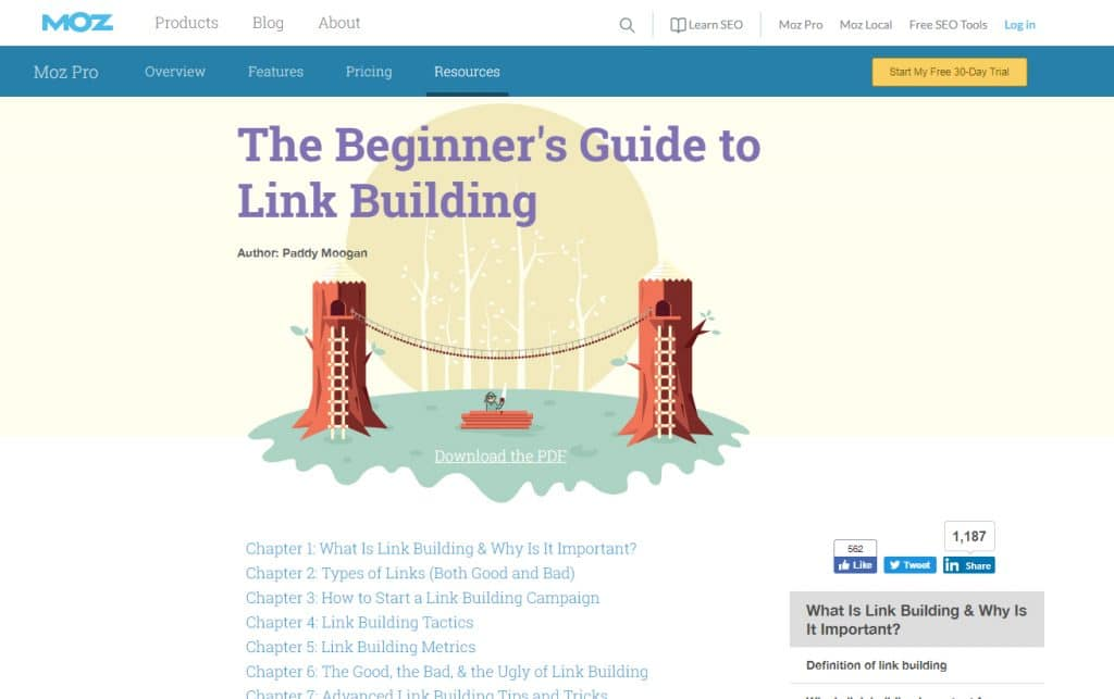 5 Free SEO Resources - Notes on Design - 웹