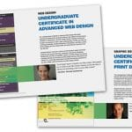New print design and advanced Web programs