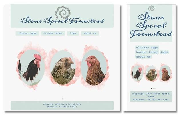 Online web design coursework