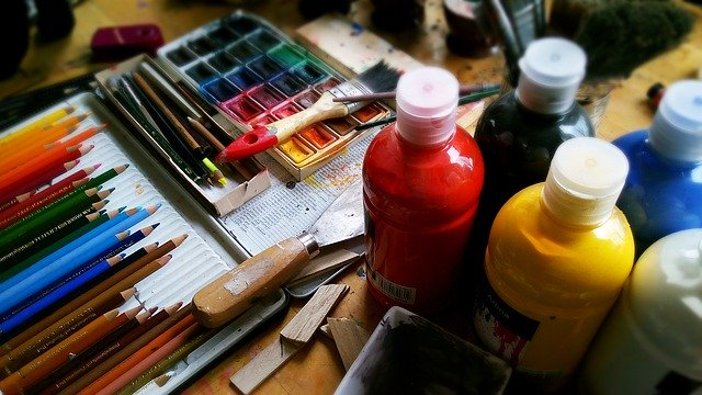 painting - Quarantine Checklist for Creatives