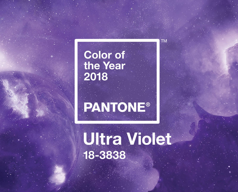 Pantone Just Released The Color Of Year For 2018 And It S A Rich Vibrant Purple Is Similar To One They Debuted Earlier This That