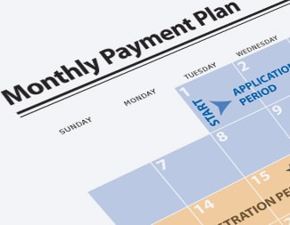 Monthly payment plan image