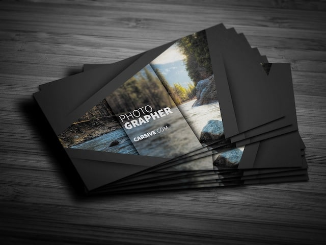 10 free business card templates for designers modern photographer business cards wajeb Gallery