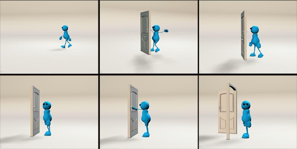 Jerry Douglass - Maya character animation