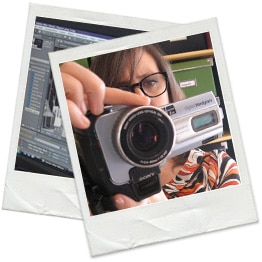 Polaroid multimedia designer