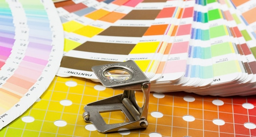 Online print production course image