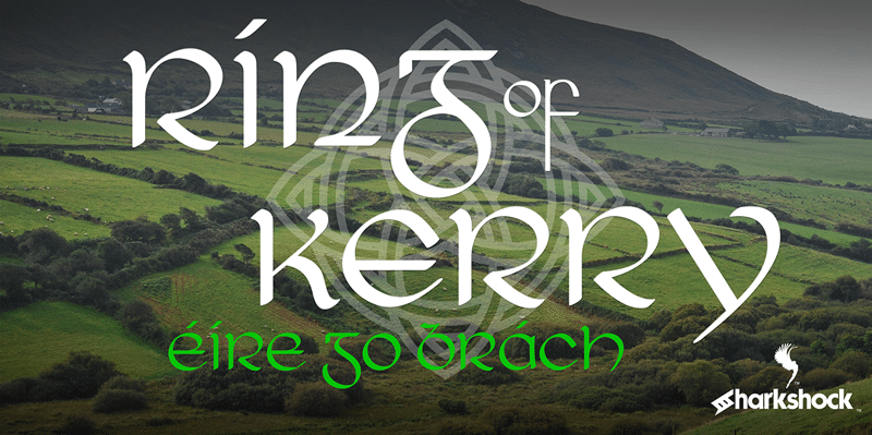 Free Font Friday - Ring of Kerry - Sessions College