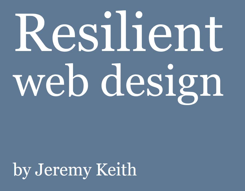 Cool ebooks for creative nerds notes on design for teachers and philosophers resilient web design explores the cultural value of the web as a medium for communication fandeluxe Gallery