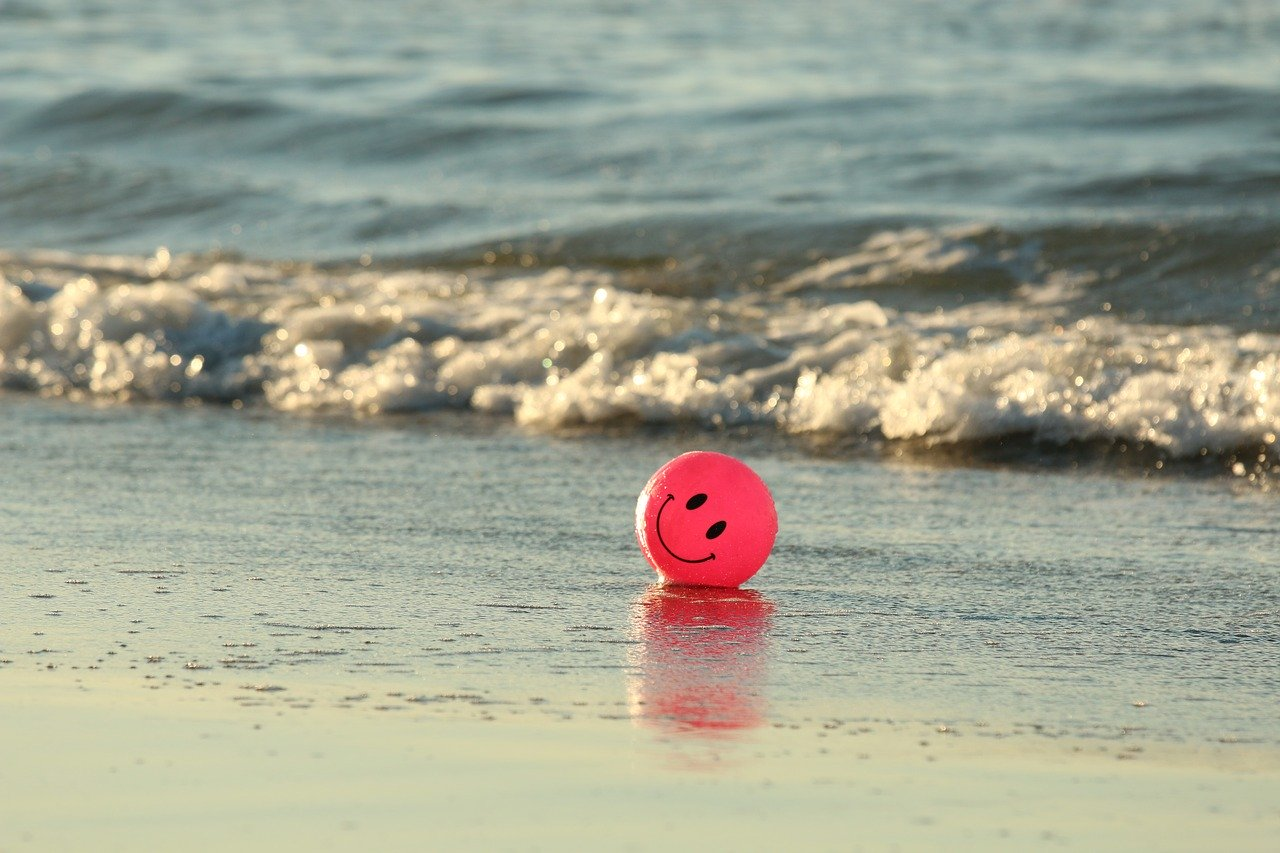 satisfied ball - freelancing during COVID