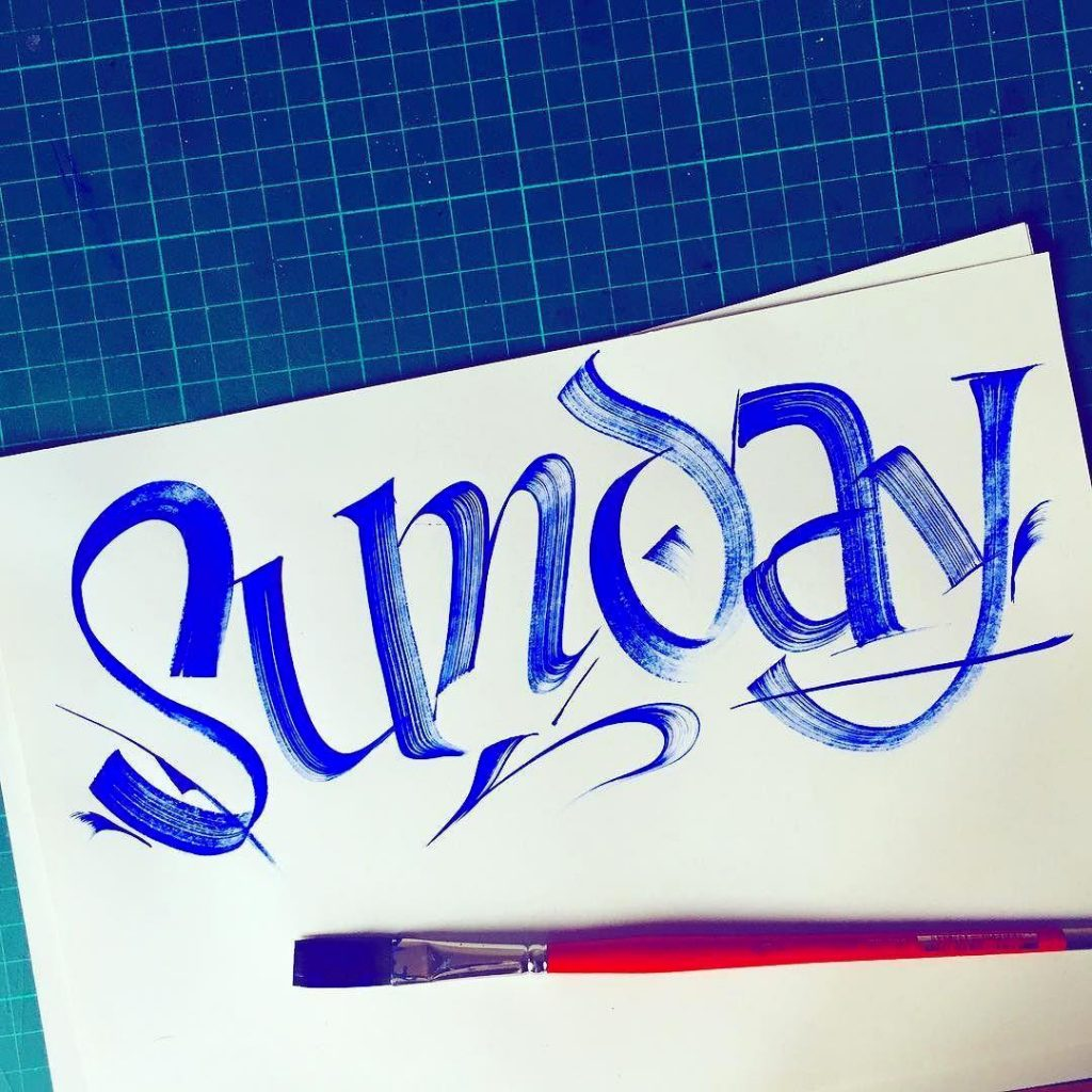 Calligraphy Resistenza