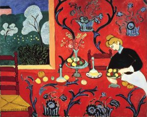 The Dessert Harmony in Red by Matisse
