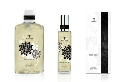Thymes Packaging Design by Celeste Prevost / Zues Jones.