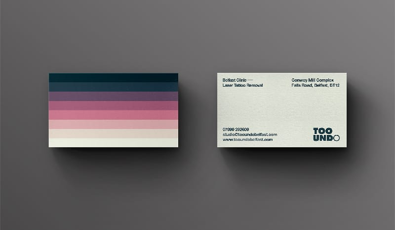 3 ways to design a better business card notes on design too undo business card reheart Image collections