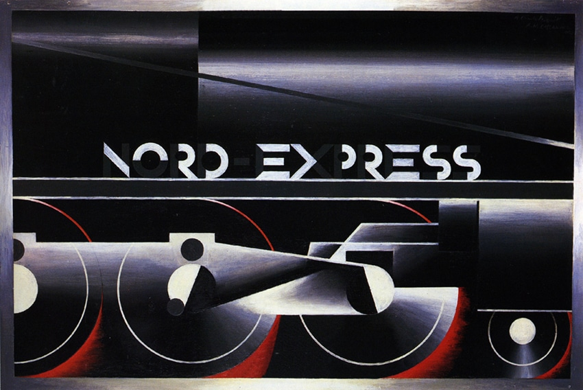 Art Deco Nord Express Poster