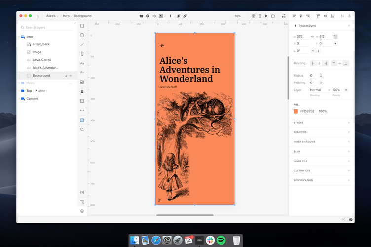 uxpin ebook layout
