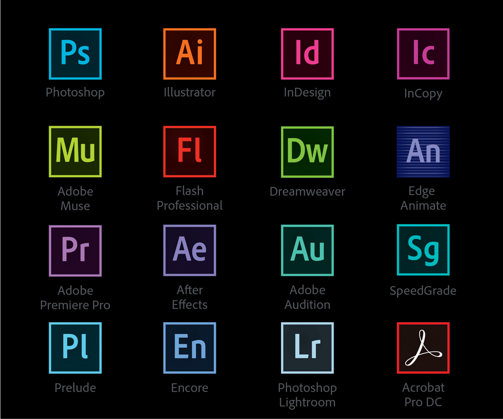Adobe Mobile Logo Type Design Software