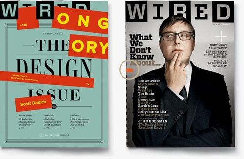 two wired cover designs