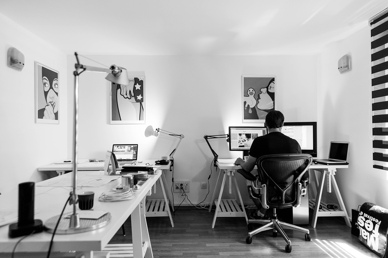 freelance work space